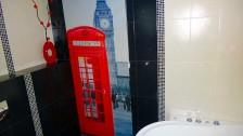 Рулонные шторы с фотопечатью в туалет RSZT-03