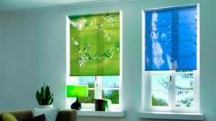 Рулонные шторы с рисунком RSRVZ-055