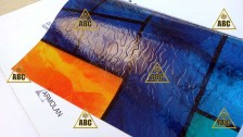 ARM (HEG 025) Geometrical pattern (Витраж 3) - Нанесение пленки в Саратове