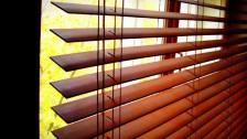 Горизонтальные деревянные жалюзи GDZK-031 в Саратове