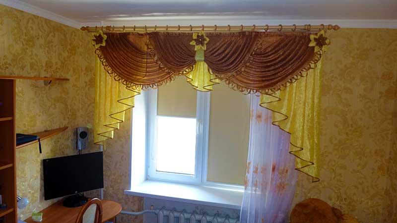 Кассетные шторы с тканью блэкаут