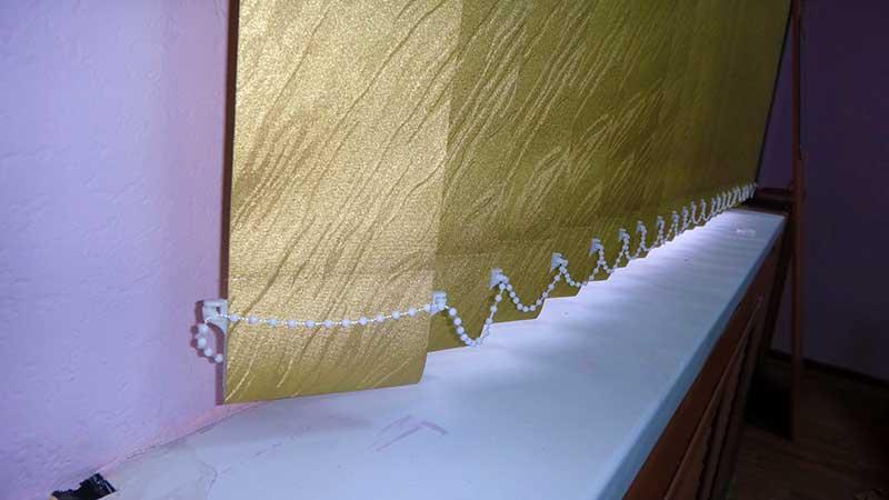 Вертикальные жалюзи с тканью блэкаут